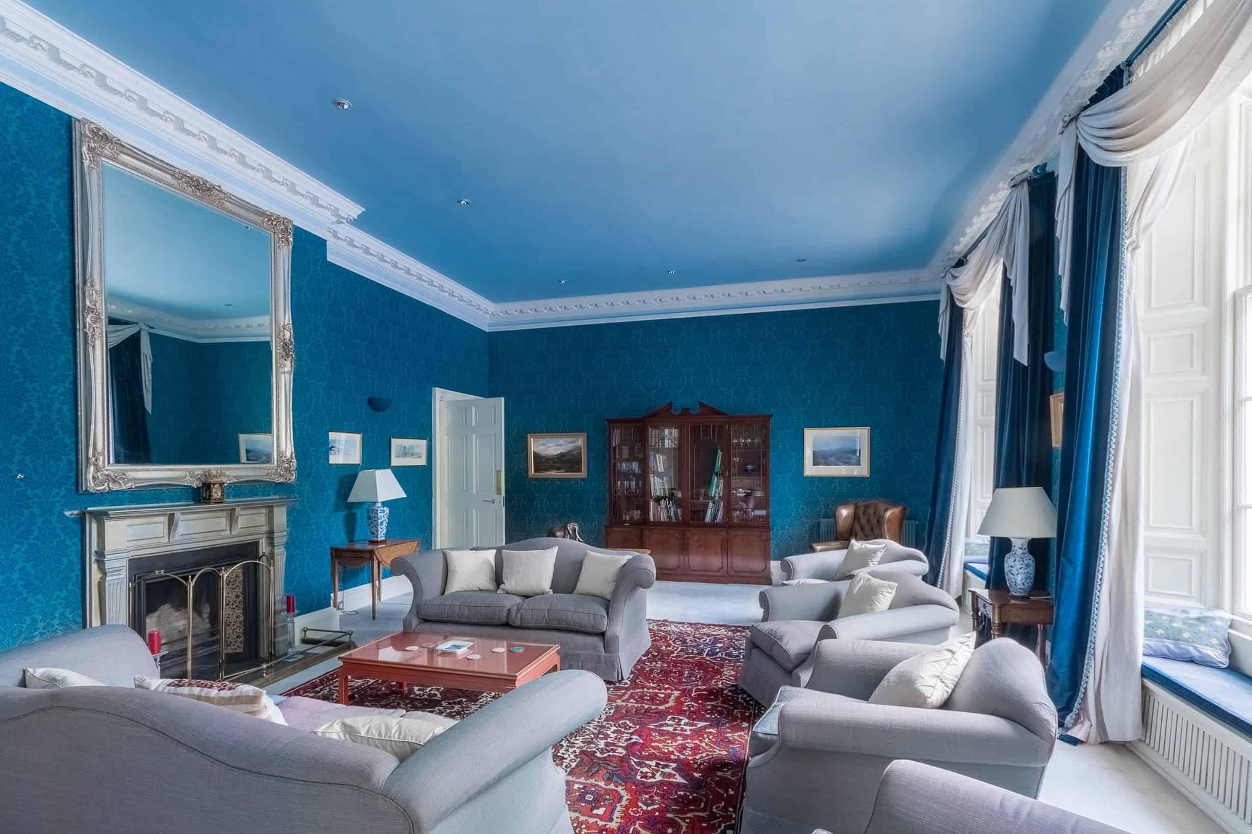 Reception Room at Blervie House