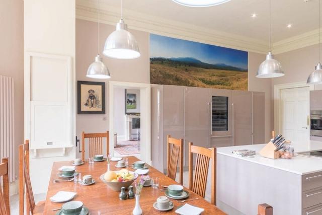 Kitchen Dining at Blervie